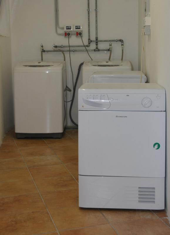 Il locale lavanderia