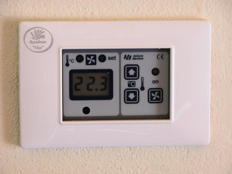 Il termostato - Residence Vico - Lago d'Idro