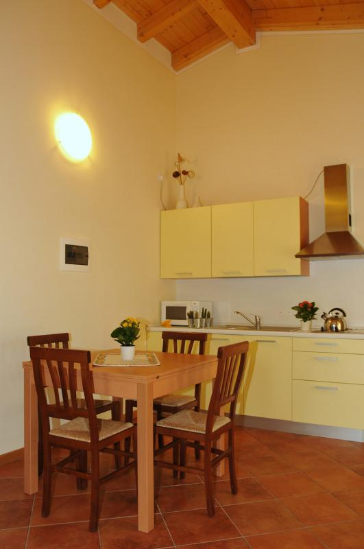 Living Room - Residence Vico - Idro lake