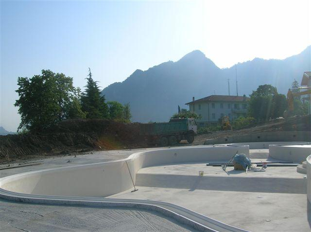 Residence Vico costruzione 1 giugno 2006 - Lago d'Idro