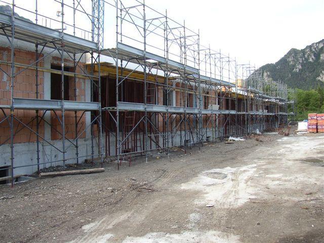 Residence Vico costruzione 12 agosto 2005 - Lago d'Idro