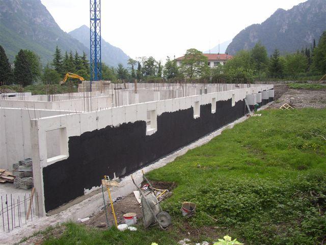 Residence Vico costruzione 16 maggio 2005 - Lago d'Idro