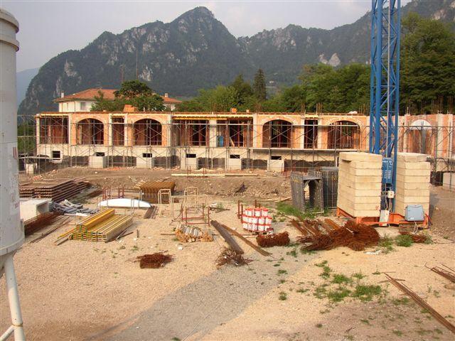 Residence Vico costruzione 25 luglio 2005 - Lago d'Idro