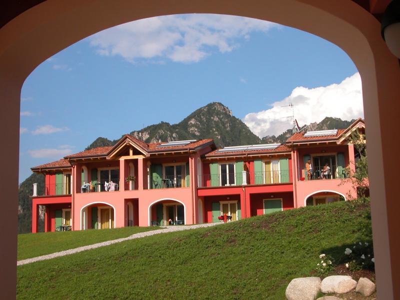 Terrasse - Residence Vico - Idro See