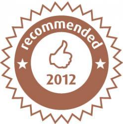 Raccomandazione Zoover 2012