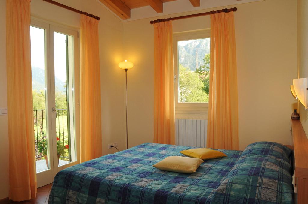 Camera da letto matrimoniale - Residence Vico - Lago d'Idro