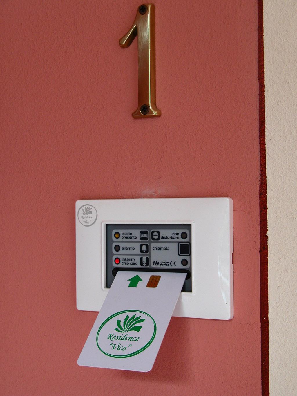 Chip Card - Residence Vico - Idromeer