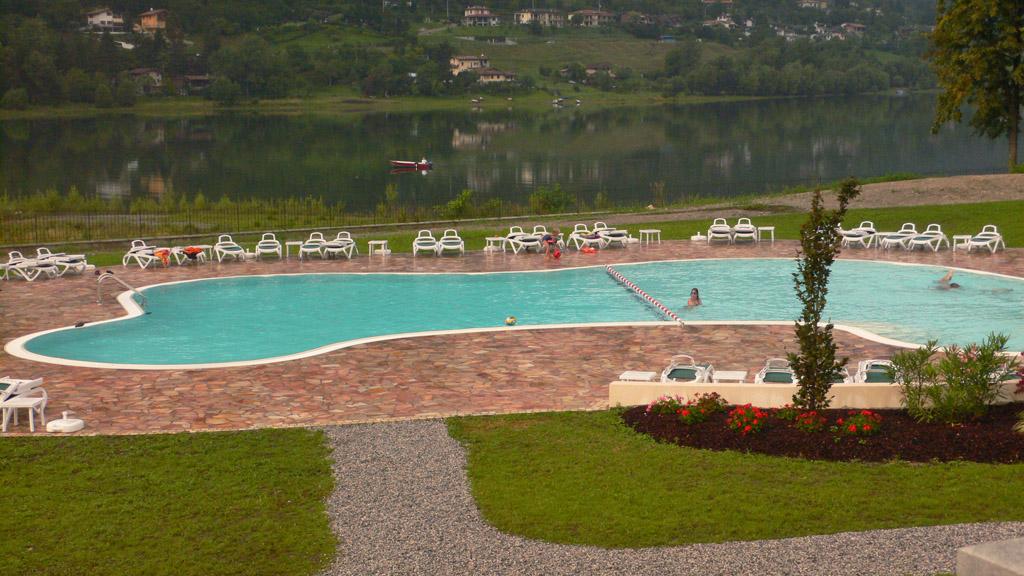 Draußen - Residence Vico - Idro See