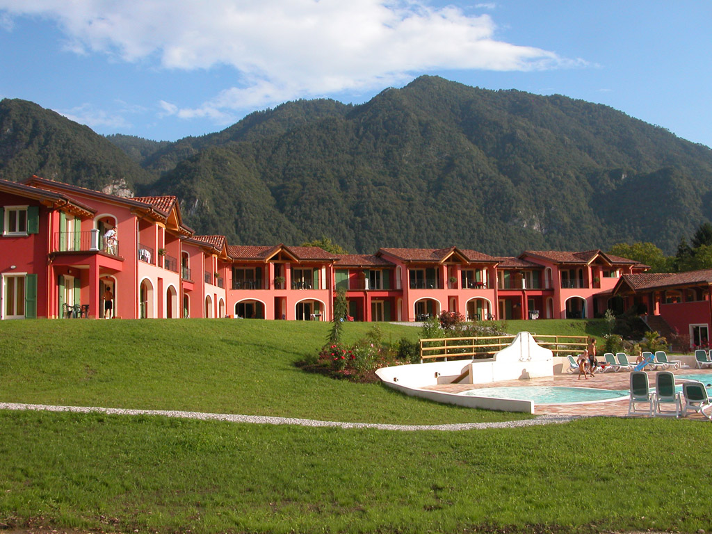 Giardino - Residence Vico - Lago d'Idro