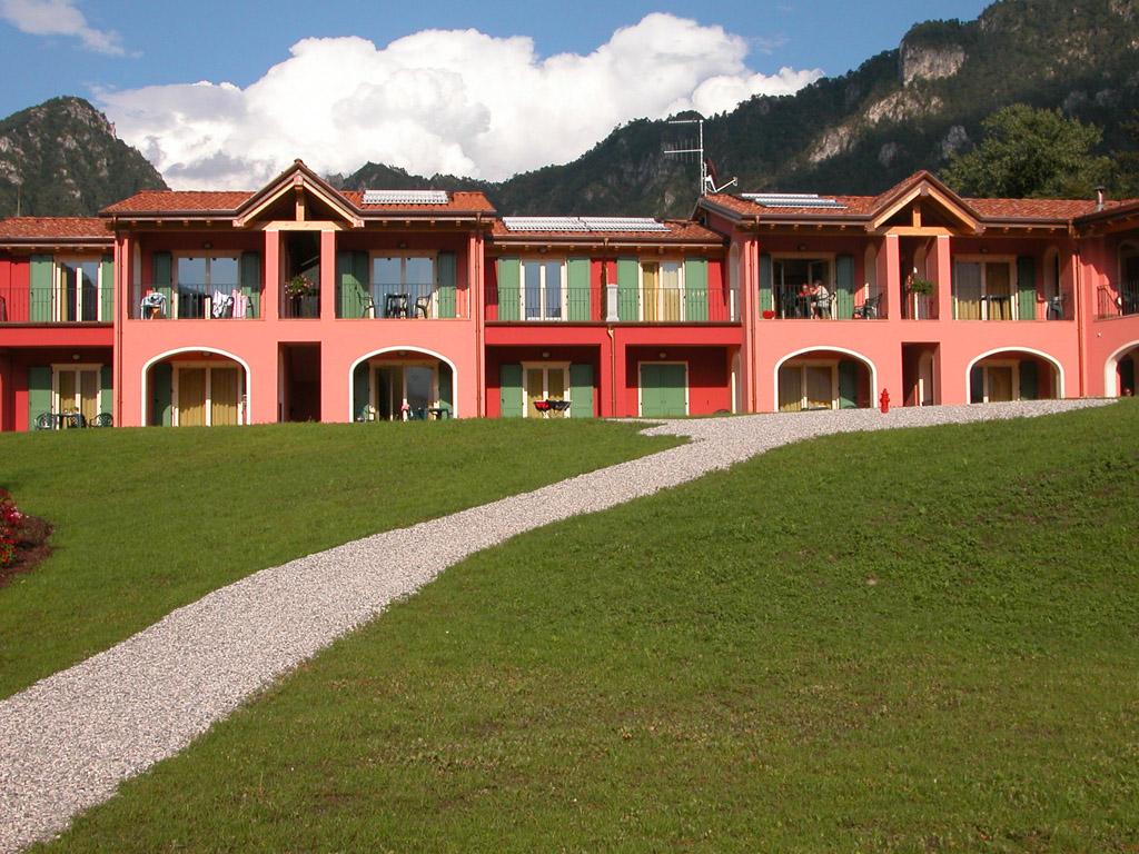 Gli esterni - Residence Vico - Lago d'Idro