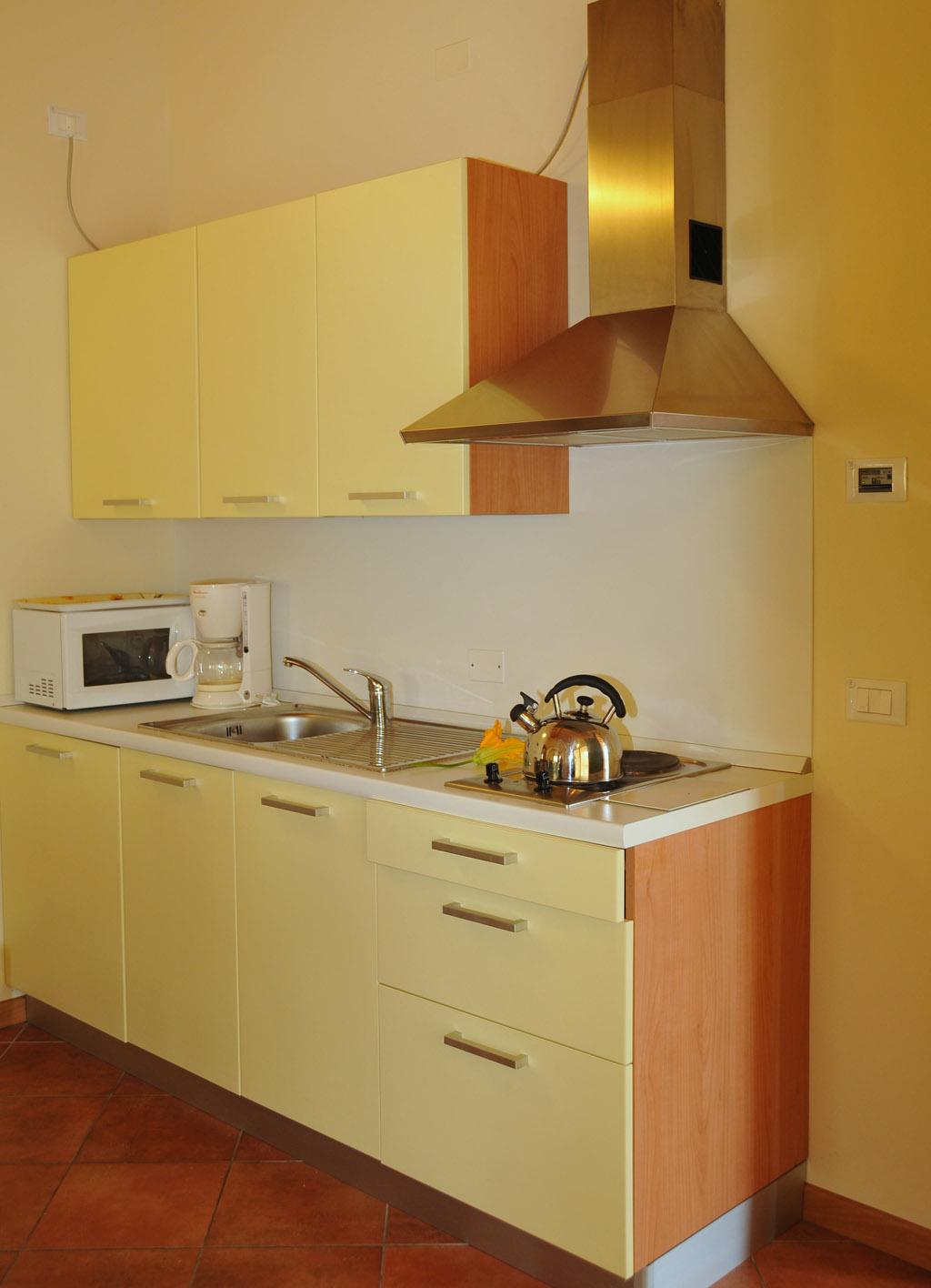 Küche - Residence Vico - Idro See