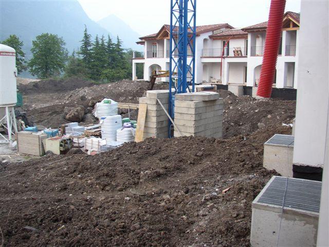 Residence Vico costruzione 1 aprile 2006 - Lago d'Idro