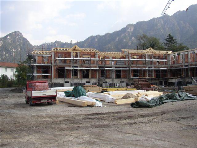 Residence Vico costruzione 12 ottobre 2005 - Lago d'Idro