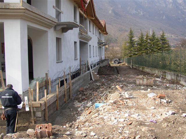 Residence Vico costruzione 15 marzo 2006 - Lago d'Idro