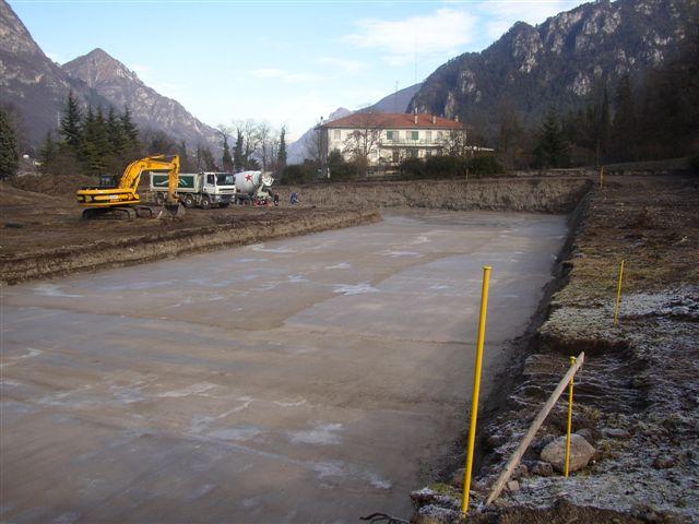 Residence Vico costruzione 23 dicembre 2004 - Lago d'Idro