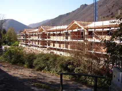 Residence Vico costruzione 9 novembre 2005 - Lago d'Idro