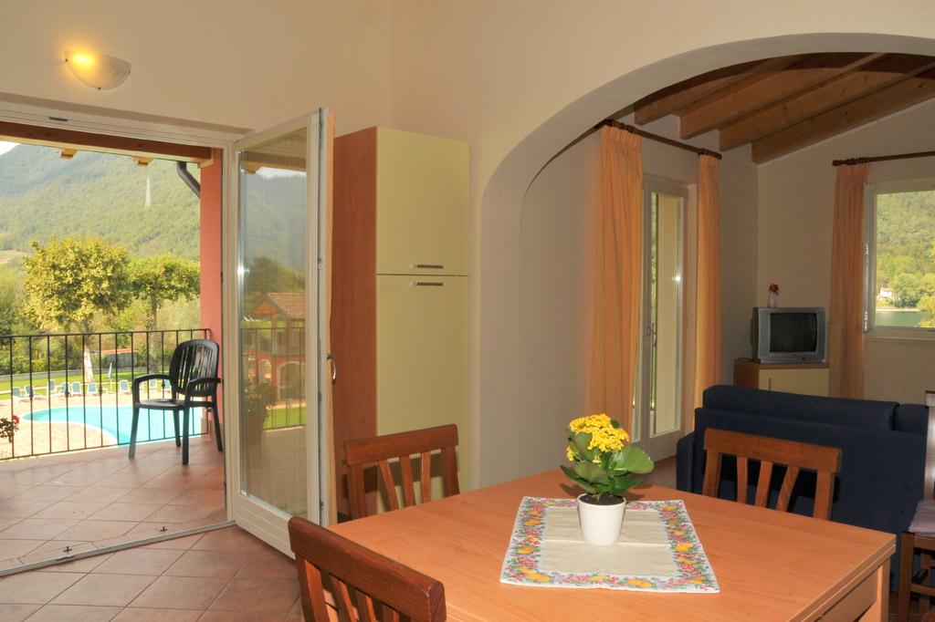 Wohnzimmer - Residence Vico - Idro See
